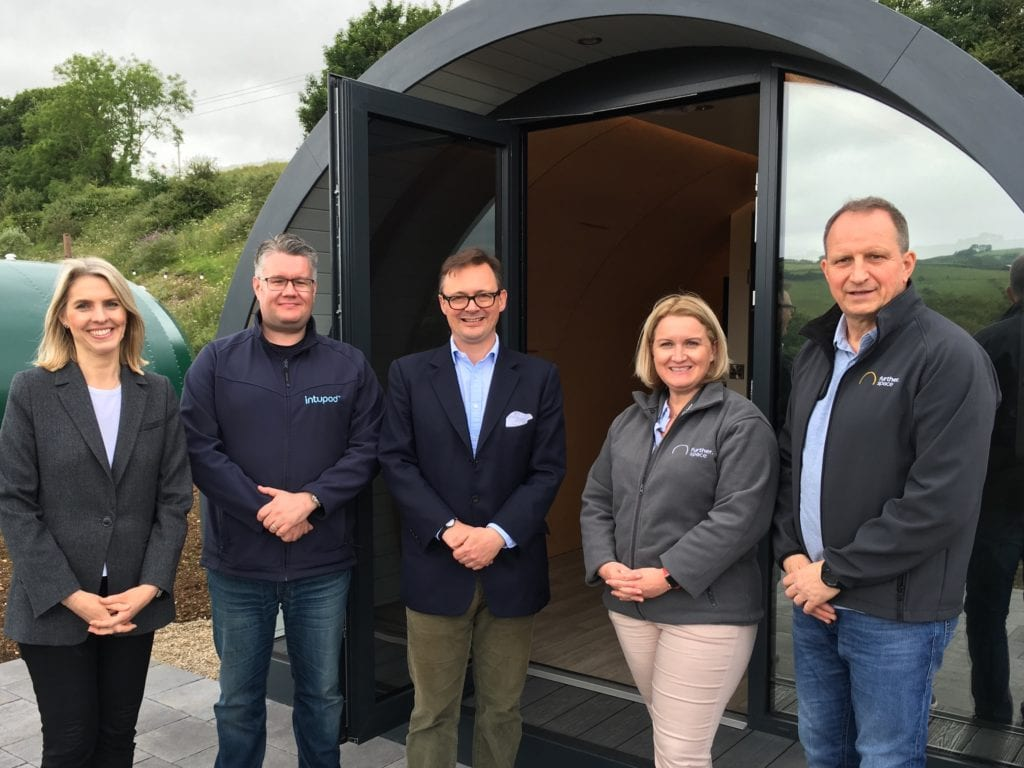 Glenarm glamping Pods Lord and Lady Dunluce