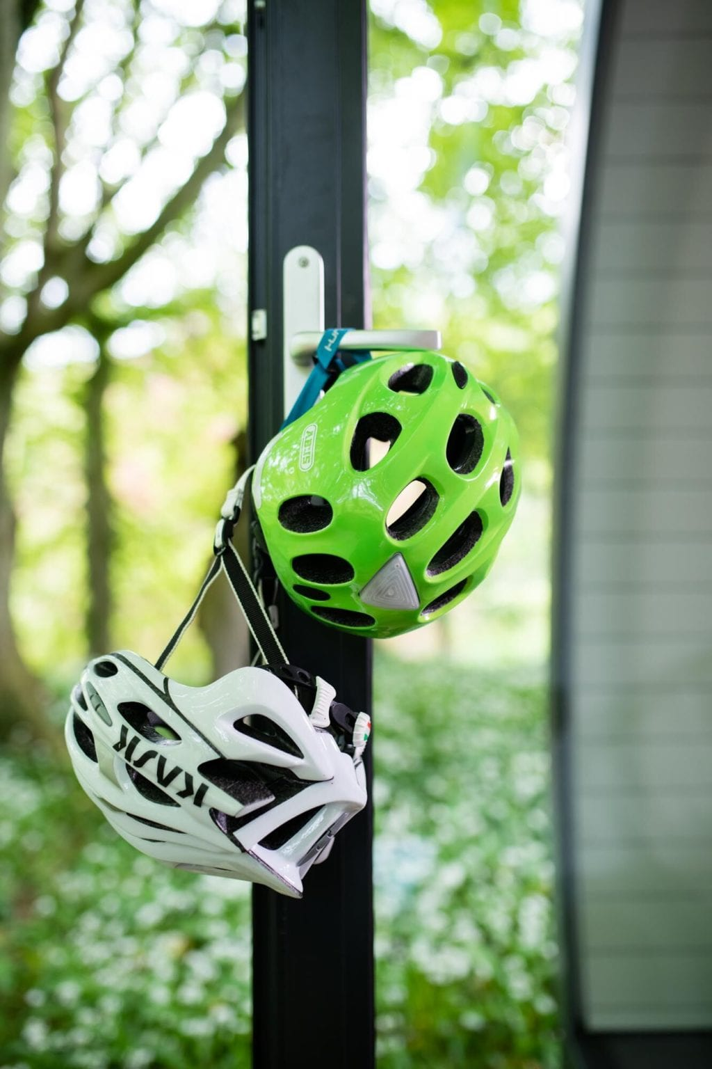 Glamping pods are the perfect base for a Cycling holiday