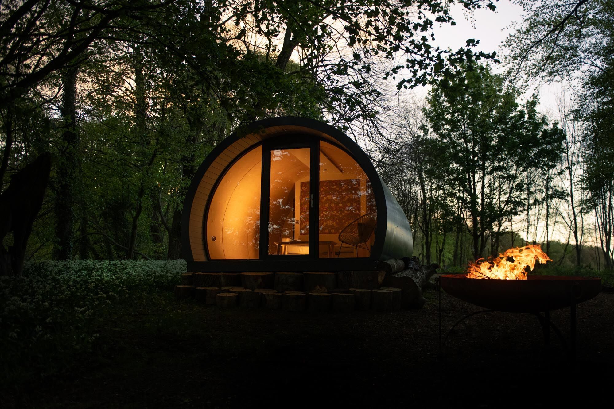 Pod Forest Camping