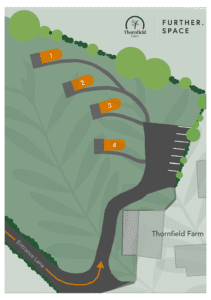 Thornfield Farm Dark Hedges Accommodation Site Map A5